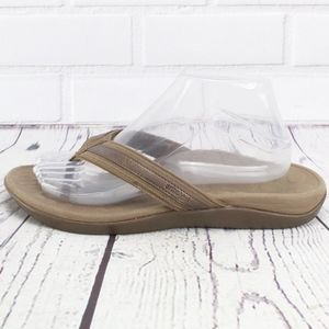 9dfa68ff Orthaheel Brown Thong Flip Flop Sandals Size 9.5
